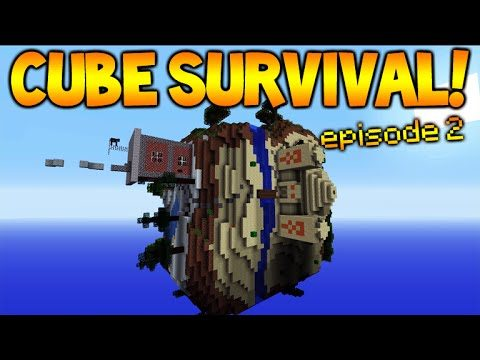 Minecraft Xbox | Cubed Survival | Cube Exploring! Episode 2