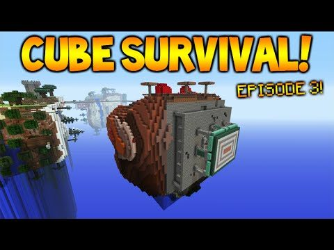Minecraft Xbox | Cubed Survival | The Second Cube! Episode 3