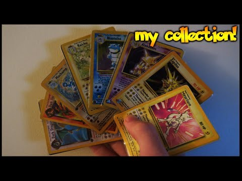 MY 1ST GENERATION POKEMON CARD COLLECTION (ORIGINAL CARDS)
