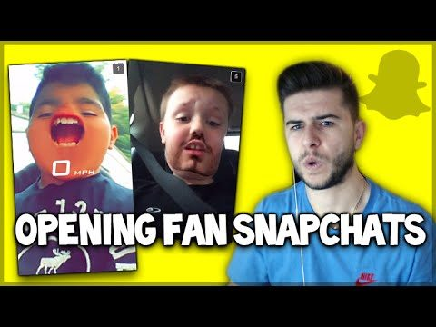 OPENING SNAPCHATS FROM FANS – WHAT DID I JUST WATCH!