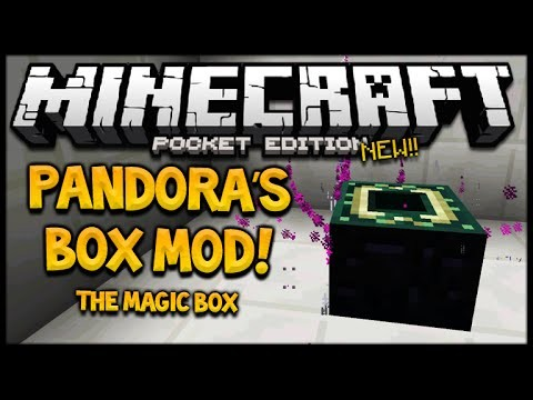 PANDORA'S BOX MOD! Minecraft Pocket Edition 0.14.0/0.15.0 Magical Box Mod EPIC (Minecraft PE)