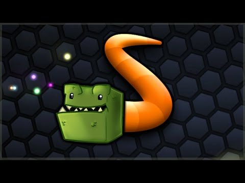 SLITHER.IO IN MINECRAFT! – AMAZING NEW MINI GAME (Project Mayhem)