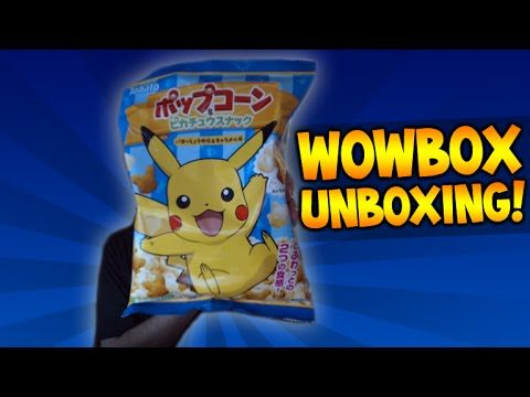 TRYING JAPANESE CANDY | WOWBOX SUBSCRIPTION UNBOXING | POKEMON CANDY!!