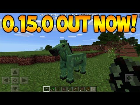 0.15.0 BETA OUT NOW!! Minecraft Pocket Edition 0.15.0 JOIN THE BETA! + EVERYTHING ADDED (MCPE)