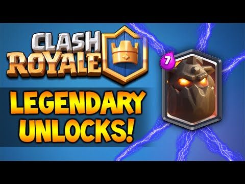 CLASH ROYALE | MY FIRST LEGENDARY CARD + NEW DECK TESTING (Clash Royale)