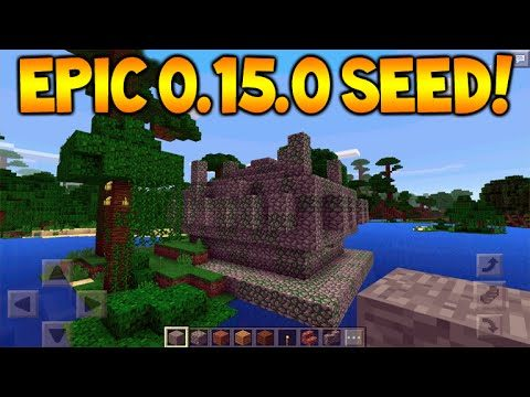 JUNGLE TEMPLE SEED!! Minecraft Pocket Edition 0.15.0 Seed – 6 Enchanted books, Temples + Villages