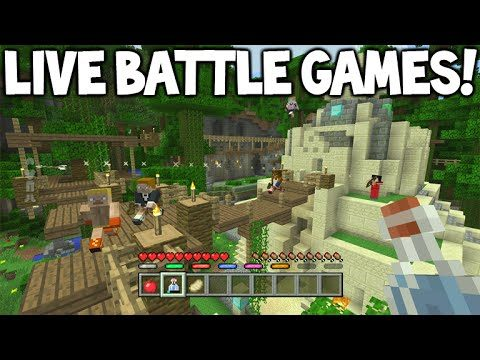 [LIVE] Minecraft Console Edition – BATTLE UPDATE – Day 2 Map Learning! (Console Edition)