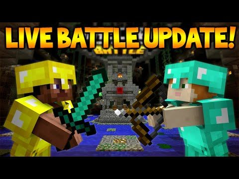 [LIVE] Minecraft Console Edition – BATTLE UPDATE – Day 1 First Experience (Console Edition)