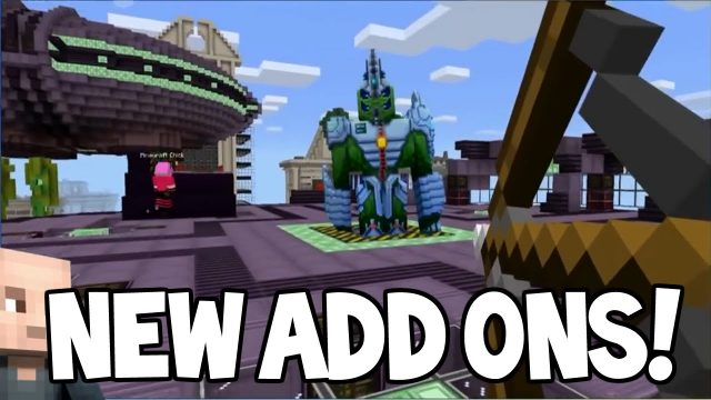 MCPE ADDONS!! – Minecraft Pocket Edition NEW Addons Feature Coming Soon (Minecraft PE)