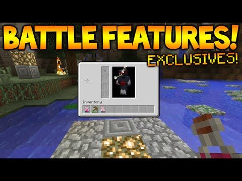 Minecraft Console Edition – NEW BATTLE MODE – Mini Inventory Exclusives + Alliances (Battle Mode)
