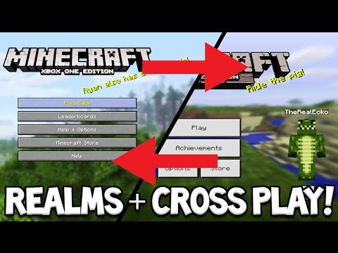Minecraft Console Edition – REALMS + Cross Platform Play Coming Fully Explained (Minecraft Console)