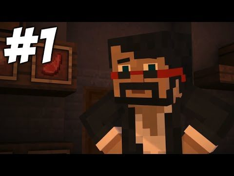 """Minecraft Story Mode – Episode 6 – Meeting Youtubers (Part 1) """"A Portal To Mystery"""""""