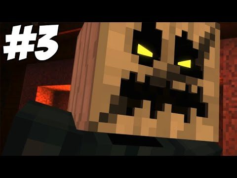 """Minecraft Story Mode – Episode 6 – Stampy's Confession (Part 3) """"A Portal To Mystery"""""""