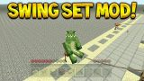 Minecraft Xbox 360PS3 – Fully Working Swing Set Mod On Console Minecraft (Mod Showcase)