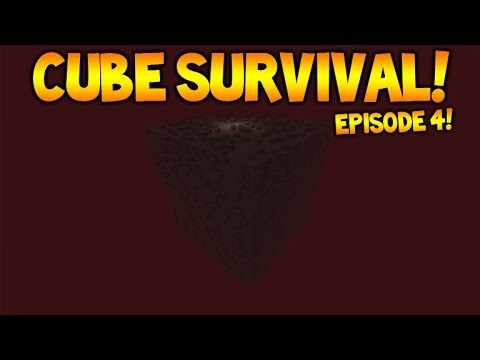 Minecraft Xbox | Cubed Survival | The Nether Cube! Episode 4