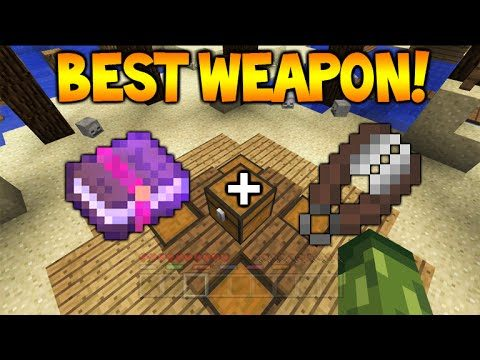 THE BEST WEAPON IN BATTLE!! – Minecraft Console Edition BATTLE Mini-Game Most OVERPOWERED Weapon!!