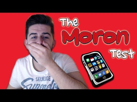 THE MORON TEST – I'm Actually Really Stupid (Fun Iphone Games)