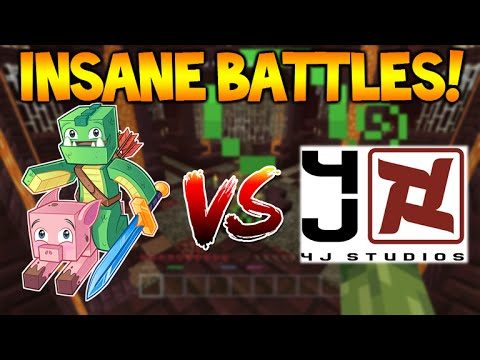 THE MOST INSANE BATTLE GAME EVER!! – Minecraft Battle ECKOSOLDIER Vs 4jStudios (Console Edition)