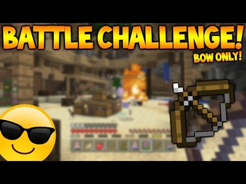BOW ONLY CHALLENGE!! – Minecraft Console Edition Battle Mini-Game Challenge 2 (Console Edition)