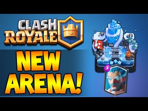 CLASH ROYALE | NEW FROST ARENA! 2300 TROPHIES! + LEGENDARY ARENA PUSH (Clash Royale)