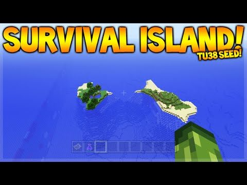 DOUBLE SURVIVAL ISLAND!! Minecraft Console Edition – TU38 Survival Island Seeds (NEW)