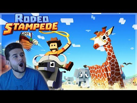 I BOUGHT A SKY ZOO SAFARI!! – Rodeo Stampede! Animal Catching Part 1 (iPhone, Andriod App)