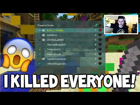 I KILLED EVERYONE!! – Minecraft Console Edition BATTLE Mini-Game FLAWLESS VICTORY!!