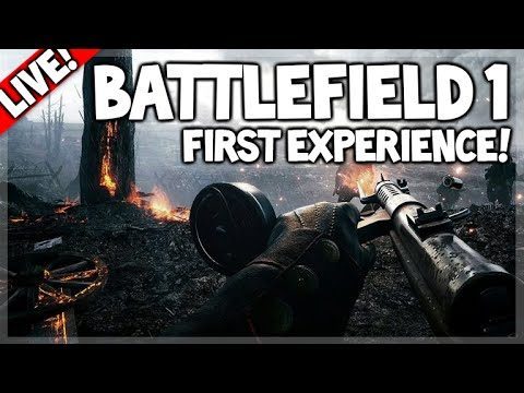 [LIVE] BATTLEFIELD 1 – THE FIRST EXPERIENCE DOMINATION + CONQUEST (PC Gameplay)