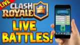 [LIVE] CLASH ROYALE | FINAL LEGENDARY ARENA PUSH + TOURNAMENT (Clash Royale)