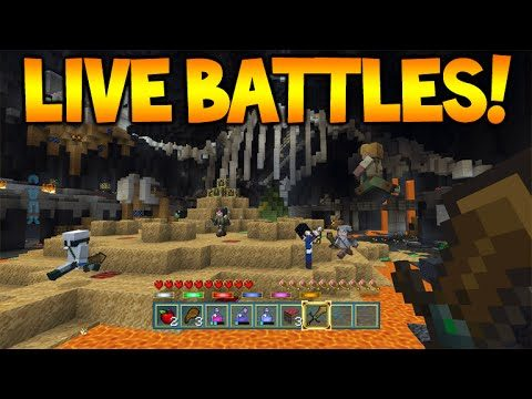 [LIVE] Minecraft Console Edition – Battle Mini-Game Chat Challenges! (Console Edition)