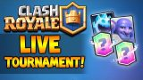 [LIVE] NEW CLASH ROYALE TOURNAMENT | NEW UPDATE , CARDS & BATTLES (Clash Royale)