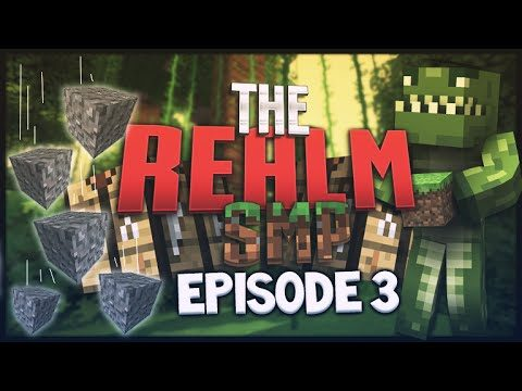 MCPE 0.15.0 REALMS SMP EPISODE 3 – Gravel Is Not Your Friend! Minecraft PE (Pocket Edition)