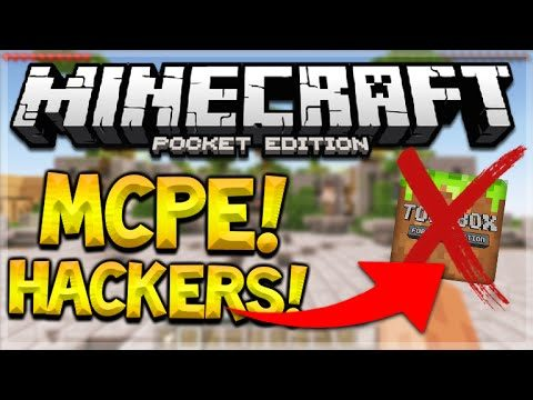MCPE HACKERS + MODS – Minecraft PE APP Makers Ruining Servers For The Community (MUST WATCH!)