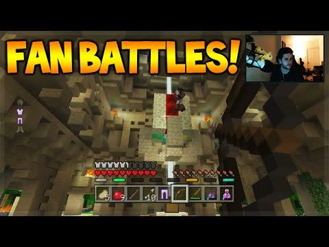 Minecraft Console Edition – BATTLE MINI-GAME W/ Subscribers (fan Challenges)