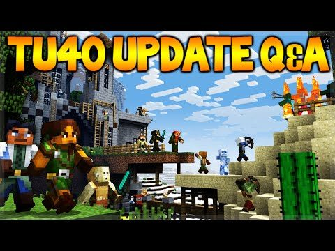 Minecraft Console Edition – Title Update 40 Q&A NEW Mini-Games + 1.9 Release (Console Edition)