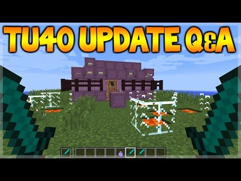 Minecraft Console Edition – Title Update 40 Q&A – NEW Realm Worlds + Banners (Console Edition)