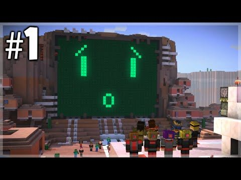 Minecraft Story Mode – Episode 7 – MEETING PAMA (Part 1) Access Denied