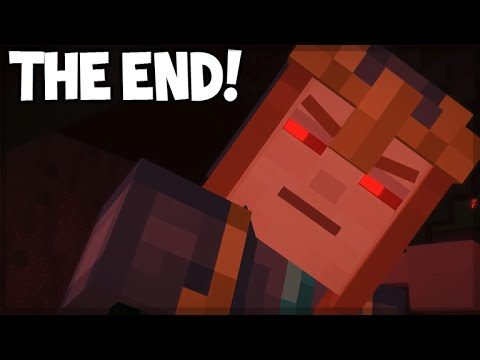 Minecraft Story Mode – Episode 7 – THE REDSTONE HEART! (THE END) Access Denied