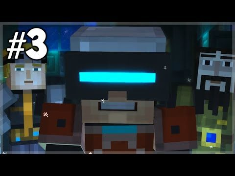 Minecraft Story Mode – Episode 7 – VIRTUAL MIND CONTROL! (Part 3) Access Denied