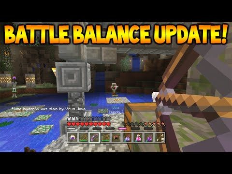 NEW BATTLE UPDATE COMING!! – Minecraft Console Edition BATTLE MINI-GAME Balance Update