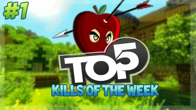TOP 5 KILLS OF THE WEEK!! – Minecraft Battle Mini-Game Top 5 Kills POTION POWER Week 1