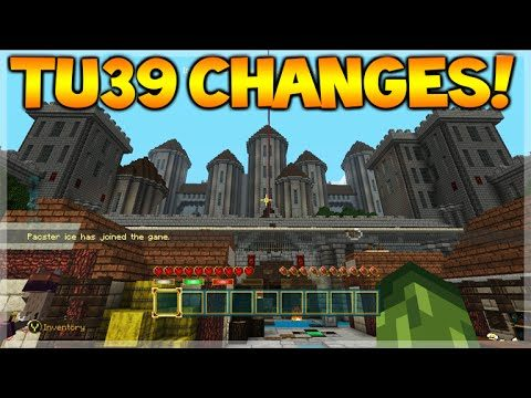 TU39 UPDATE CHANGES! – Minecraft Console Edition TU39 New Features + NEW Skin Pack