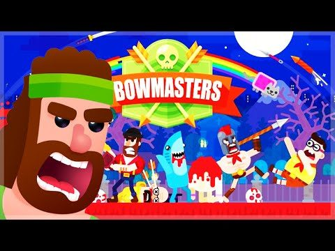 BOWMASTERS!!! – EPIC HEADSHOTS BEING ROBIN HOOD! – 1Vs1 Bow Fighting (iOSAndroid)
