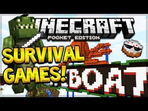 HACKERS PUNISHMENT!! Minecraft Pocket Edition Survival Games The Lucky Cake! (Minecraft PE)
