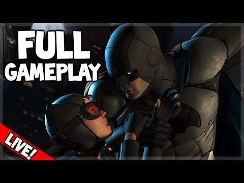 [LIVE] BATMAN: The Telltale Series FULL Gameplay Walkthrough (Episode 1 – Realm of Shadows)
