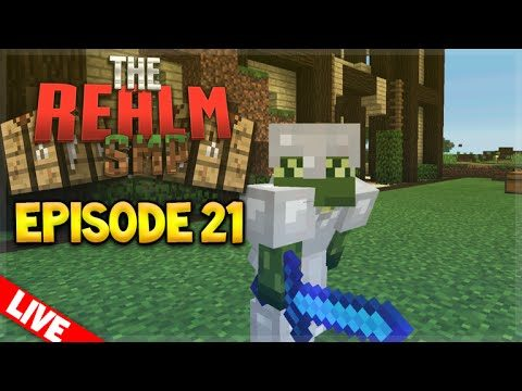 [LIVE] MCPE 0.15.6 REALMS SMP EPISODE 21 – The Grand Opening! Minecraft PE (Pocket Edition)