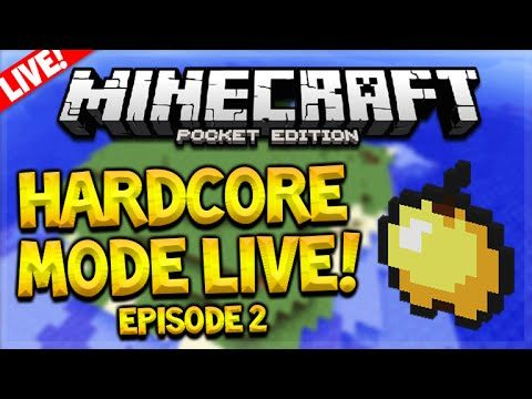 [LIVE] MCPE ULTRA HARDCORE SURVIVAL! – Minecraft Pocket Edition 0.15.4 UHC Survival Episode 2