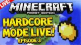 [LIVE] MCPE ULTRA HARDCORE SURVIVAL! – Minecraft Pocket Edition 0.15.6 UHC Survival Episode 3
