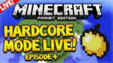 [LIVE] MCPE ULTRA HARDCORE SURVIVAL! – Minecraft Pocket Edition 0.15.6 UHC Survival Episode 4