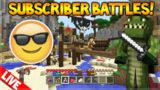 [LIVE] Minecraft Console Edition – Battle-Mini Game – Subscriber Battles! (Console Edition)